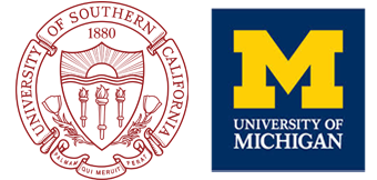 USC and Michigan University Logo